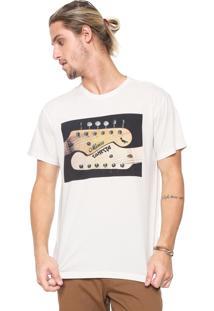 Camiseta Reserva Música Conecta Off-White