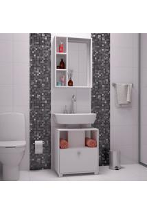 Conjunto Para Banheiro Bkb02 ? Brv - Branco