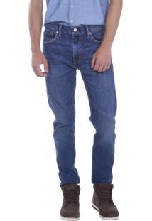 Calça Jeans Levis 512 Slim Taper Azul Médio Azul