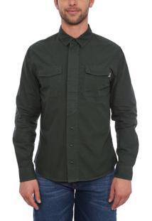 Camisa Manga Longa Jacket Military