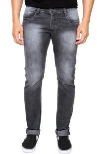 Calça Jeans Fiveblu Slim Estoanda Cinza