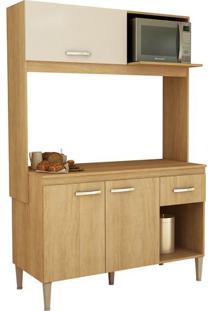 Cozinha Compacta Com Tampo Fellicci Sarah, 3 Portas, 1 Gaveta - Cc14T