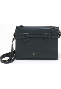 Bolsa Shoulder Bag Couro Verde Éden - M