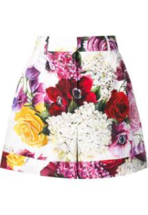 Dolce & Gabbana Short Floral - Branco
