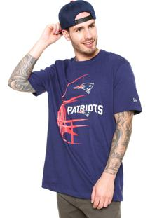 Camiseta New Era England Patriots Nf Azul