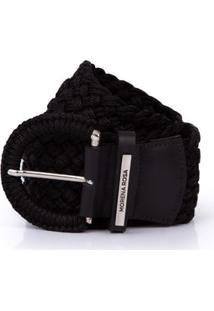 Cinto Cintura Quadril Regular Tresse Preto - Tu