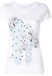 Ioana Ciolacu Camiseta 'Atacama' - Branco
