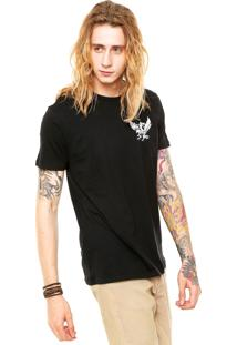 Camiseta Billabong Eagles Dare Preta