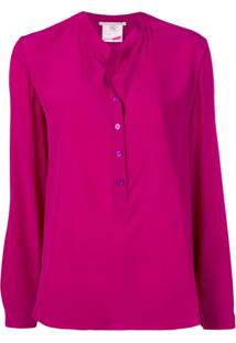 Stella Mccartney Blusa Color Block - Roxo