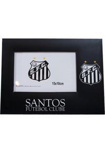 Porta Retrato Minas De Presentes Papelão Para Uma Foto 15X10Cm - Santos Preto