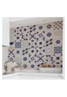 Adesivo De Azulejo Francesco 10X10 Cm Com 50Un