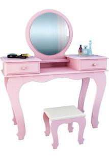 Penteadeira Com Espelho Ariel Rose