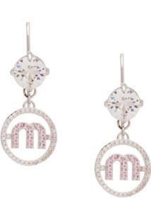 Miu Miu Micro Candy Jewels Earrings - F0Zjl Steel Gray + Multicolor