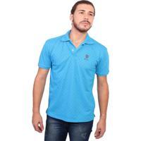 Camisa Polo New York Polo Club Full Print - Masculino-Azul Claro db3cfa1c842ae