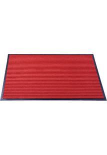 Tapete Para Porta- Vermelho- 60X40Cm- Sultansultan