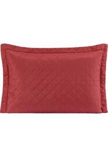 Porta Travesseiro Avulso Mr 01 Peça - Vermelho