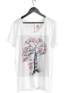 Camiseta Estonada Corte À Fio Joss Skull Tree Masculina - Masculino
