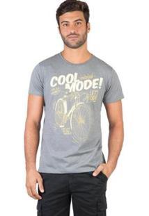 Camiseta Estampada Taco Masculina - Masculino-Verde Escuro