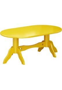 Mesa De Centro Jaqueline - Amarelo - Tommy Design