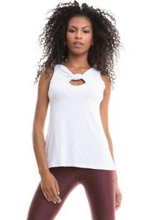 Blusa Lisa Cavada Branco