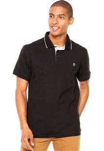 Camisa Polo Timberland Nh Preto