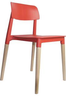 Cadeira Juliana Vermelha Rivatti Móveis