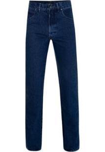 Calça Jeans Pierre Cardin Classic Blue Masculina - Masculino-Marinho