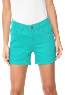 48df33c11b6eb Short Basico Verde feminino   Shoelover