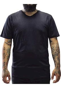 Camiseta Masculina Algodão Sandro Clothing Jhony Preto