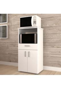 Armário De Cozinha 2 Portas 1 Gaveta Para Forno Ba-1410 Branco - Hecol