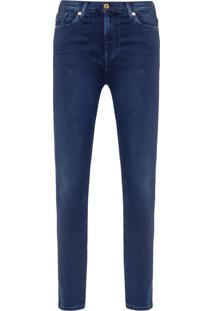 Calça Feminina Skinny Slim Rozie Slim Illusion Luxe Rich - Azul