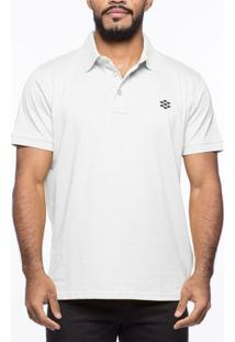 Camiseta Pólo Casual Zebra Pine Code Jersey - Masculino