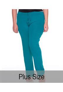 Calça Lisa Visco E-Pijama (5434) Plus Size