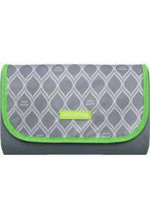 Tapete Para Piquenique Geométrico- Cinza Verde Limãobjacki Design