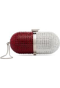 Marzook Bolsa Com Aplicações - Vermelho