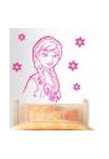 Adesivo De Parede Anna Frozen - G 84X60Cm
