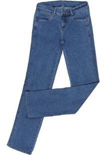 Calça Jeans Tassa Cowboy Elastano Feminina - Feminino