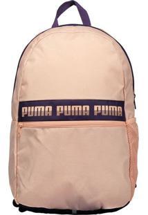 Mochila Puma Phase Ii Rosa E Roxa