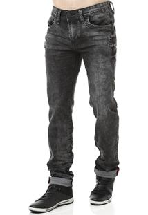 Calça Jeans Masculina Preto - Masculino