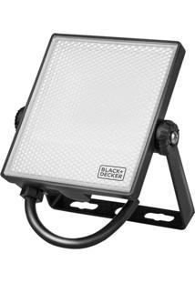 Refletor De Led 10W 6500K Ip65 800 Lúmens Cor: Branca - Black+Decker