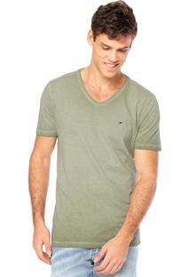 Camiseta Manga Curta Ellus V Verde