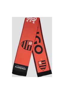 Cachecol Flamengo Especial Vermelho