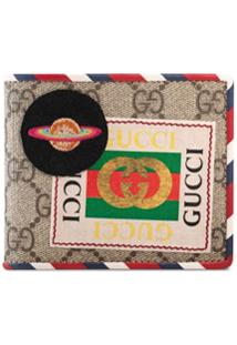 Gucci Carteira Courrier Gg Supreme - Neutro