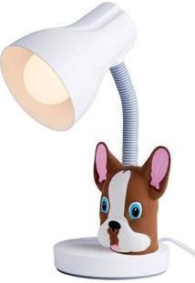 Luminária De Mesa Infantil Com Pendeco Buldog Startec & Co