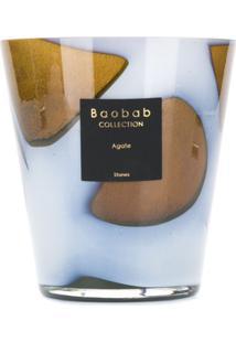 Baobab Collection Vela Aromática Stone Agath - Branco