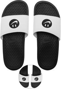 Chinelo Nike Sportswear Benassi Jdi Print Branco