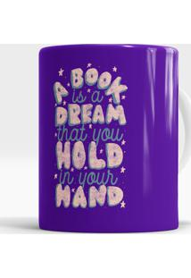 Caneca A Book Is A Dream