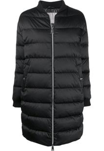 Herno Padded Coat - Preto