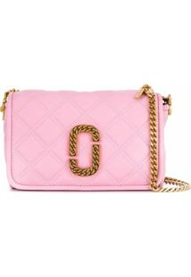 Marc Jacobs Bolsa Transversal The Status - Rosa