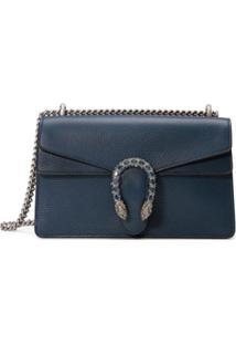 Gucci Bolsa Tiracolo Dionysus Pequena - Azul